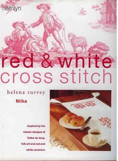 Gallery.ru / Фото #1 - Red & White Cross Stitch - Malee