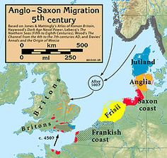 The Adventus Saxonum is the starting point in the history of England, and is traditionally characterised as an invasion rather than a settlement, with differing dates and circumstances suggested as the best conjecture.
