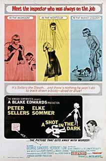 Posteritati: SHOT IN THE DARK, A 1964 U.S. 1 sheet (27x41)