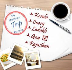 My Monsoon Trip Planner