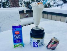 Keto OS Chocolate Swirl recipe that will knock your socks off ! This root beer float is keto approved and insanely delicious!