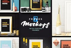 Frames Mockups by kavoon on @creativemarket