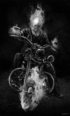 Ghost Rider by Jerad Marantz.