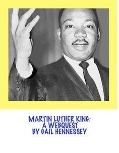 Martin Luther King: A Webquest