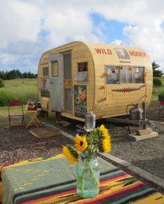 Wild Honey Vintage Camper