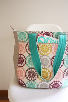 Super Tote Pattern // Noodlehead