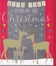 1st christmas cards baby - Google Search