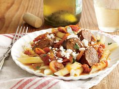 Turkey Sausage and Spicy Tomato Sauce   There's a reason why slow cooker recipes are wildly popular. We want convenience, and we want—and need—it now. The slow cooker delivers just that, working hard for us while we're hard at work, welcoming us home to a fragrant dinner that's just waiting to be enjoyed. This simple appliance works miracles with tough, inexpensive cuts of meat, coaxing out incredible flavor and turning out meltingly tender results.