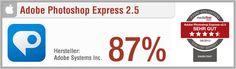 App-Test: Adobe Photoshop Express - Pro: Benutzerfreundlich, ansprechendes Design, gutes Support-Angebot, Ergebnisse teilbar, viele vorgefertigte Effekte // Contra:  Viele Effekte nur käuflich zu erwerben // Der gesamte Test auf: http://www.apptesting.de/2012/08/app-test-adobe-photoshop-express/