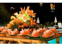 Resultado de imagem para decoração beach flowers