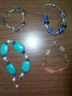 Bracelets I've made
