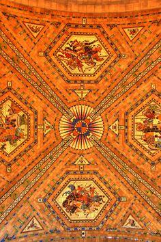 Vaulted Ceiling, Nebraska State Capitol, Lincoln, Nebraska
