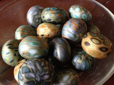 Beads! | polymer clay by Nora Pero