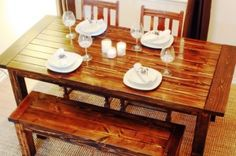 How to Build a Wood Dining Table