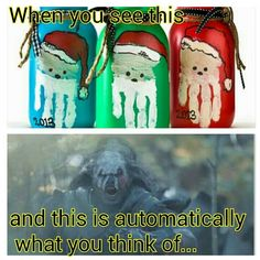 Thanks for that, J. R. R. Tolkien. #evilsantas