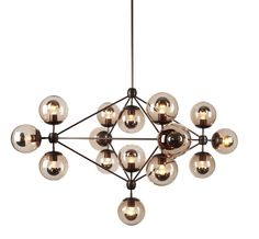 Modo Chandelier 21 light by Roll & Hill on ECC