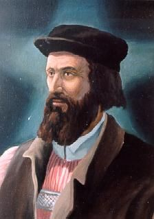 John Wycliffe (1320-1384) - the first person to begin a systematic translation of the Bible into English. He enabled the common people to hear  the Scripture in their own language for the first time.