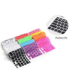This silicone keyboard cover sits right on top of your laptops keys, and acts as a protective barrier. But, in addition it also prevents dust and makes typing more soft and pleasant to touch. Follow #