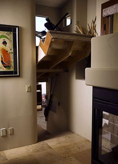 Cool Hidden room under the stairs!!! What's the big secret? (© Creative Home Engineering)