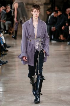 Ann Demeulemeester   Menswear - Autumn 2018   Look 18