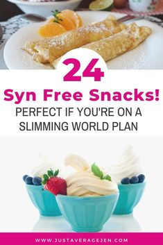 24 Syn Free Snacks for Slimming World Weight Loss Plans 24 Syn Free Snacks for Slimming World Weight Loss Plans – ideas and inspiration for guilt free snacking when trying to eat healthily on the Slimming World plan. Syn Free Desserts, Syn Free Snacks, Syn Free Food, Slimming World Desserts, Slimming World Recipes Syn Free, Slimming World Plan, Slimming World Fakeaway, Sugar Free Fruits, Savory Snacks