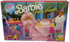 Barbie Party Playset Happy Birthday (1991) by Mattel. $55.55. Barbie Party Playset Happy Birthday (1991). Barbie Party Playset Happy Birthday (1991). Save 44% Off!