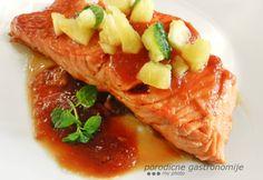 salmon in pineapple teriyaki sauce www.porodicnegastronomije.com