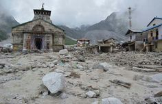 The old holi temple lasts, but thousends of people died in UTTARANCHAL area in India,due to flood.