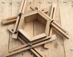 Spannhilfe für Vielecke wie Dreieck , Viereck , Fünfeck ......