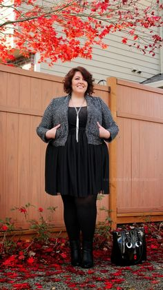 Skirt & Boots ~ Life & Style of Jessica Kane { a body acceptance and plus size fashion blog }