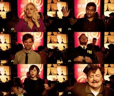 Parks and Recreation drunks. Greatest tv moment ever. I laugh EVERY single time I watch this!!