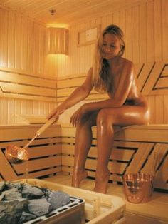 Someday I would like to have my own sauna. Currently I am living in a sauna like climate. Nothing better than a sauna on a winter day. Sauna Health Benefits, Rheumatic Fever, Sauna Design, Outdoor Sauna, Finnish Sauna, Girl In Water, Steam Room, Sweat It Out, Ulzzang Girl