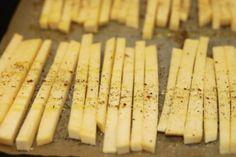 Nizkosacharidove hranolky /Low carb chips/ Bezlepkový a nízkosacharidový zdravý recept /Gluten free and low carb healthy recipe/ Paleo, Keto, Chips, Low Carb, Gluten, Recipes, Potato Chip, Recipies, Beach Wrap