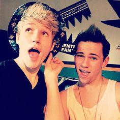 Drew and Austin