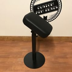 Heavy duty height and tilt adjustable tattoo armrest in black. Made to last built by custom arm rests. Pad size 25cm x 35cm Approx height 68cm to...