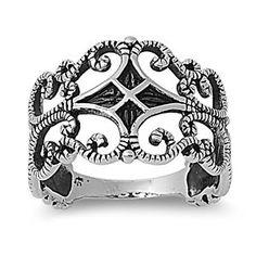 Victorian Era Four Pointed Star Op Art Ring Sterling Silver 925 Size 6 CloseoutWarehouse http://www.amazon.com/dp/B00BWIAYWS/ref=cm_sw_r_pi_dp_bm8Xtb0RHH7ANJ4C
