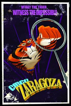 Vitaly the Russian Tiger from Madagascar 3