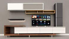 Wall Unit Designs, Living Room Tv Unit Designs, Tv Wall Design, Modern Tv Cabinet, Modern Tv Wall Units, Tv Unit Decor, Tv Wall Decor, Tv Unit Furniture Design, Tv Wall Cabinets