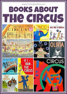 Circus Theme- Weekly Home Preschool.  Crafts, fine motor, gross motor, snacks, music, and more!  EASY activities for homeschool pre-k.