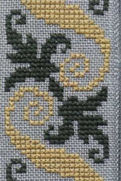 Risultati immagini per broderie point de croix Crochet Borders, Cross Stitch Borders, Cross Stitch Designs, Cross Stitching, Cross Stitch Patterns, Wool Embroidery, Simple Embroidery, Cross Stitch Embroidery, Embroidery Designs
