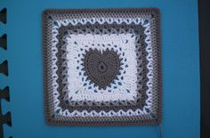 Center Heart Square  pattern by Ginger Badger