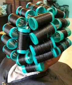 Hair Cutting Techniques, Roller Set, Curlers, Vintage Glamour, Hair Tools, Salons, Natural Hair Styles, Beauty, Rolo