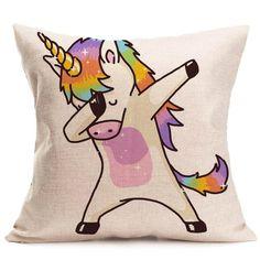 DAB Unicorn Cushion Cover