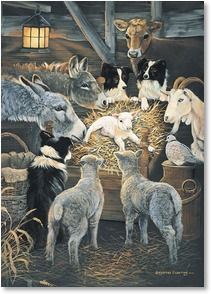 Christmas Card - All creatures, great and small... | Pollyanna Pickering | 2003922-P | Leanin' Tree