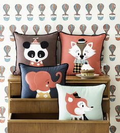 Marionette Cushions by Ferm Living @ designvintage.co.uk