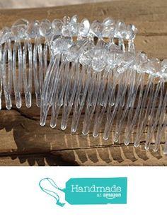 Clear Quartz Crystal Stone Hair Combs (QTY of 2) from DejaVu Designs https://www.amazon.com/dp/B01EEJZ3JA/ref=hnd_sw_r_pi_dp_sSgyxbQV5226A #handmadeatamazon
