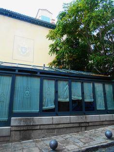 Terraza cubierta del Hotel Suizo