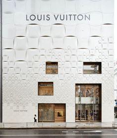 Louis Vuitton Matsuya Ginza Façade Renewal | Tokyo | Japan | Facade 2015 | WAN Awards