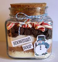 ... Joyful Stamper: Snowman Soup in a Jar!