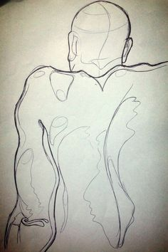 Life Drawing 1 by Tailored Cobbler, via Behance